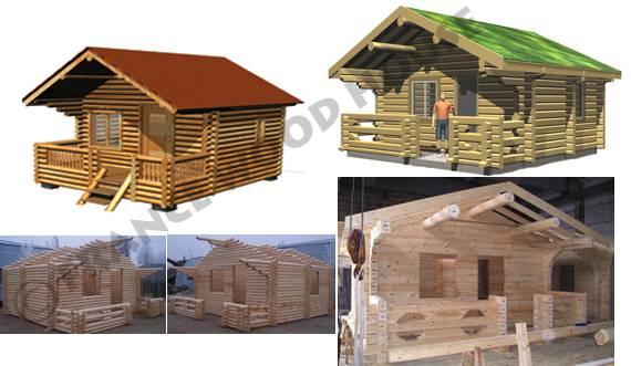 France Wood House Maisons en bois,Construction en Bois # Maison En Rondin De Bois Pas Cher